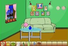 Игра Игра Побег из зеленой комнаты