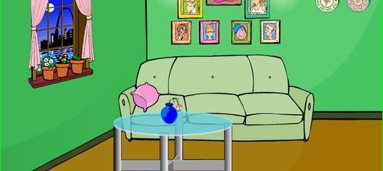 Игра Побег из зеленой комнаты