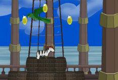Игра Джеймс и пиратская зебра
