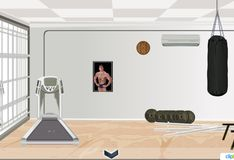 Игра Игра Побег из спортзала
