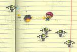 Играть бесплатно в Бумажная война