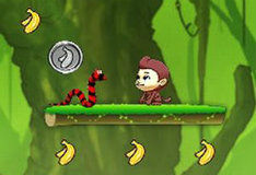 Прыгаем за бананами