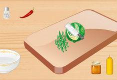 Игра Здоровый салат