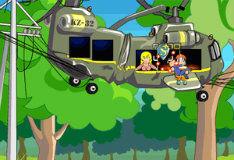 Игра Прыгающий пожарник