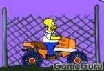 Игра Квадроцикл для Гомера 2