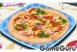 Игра Для девочек: готовить пиццу