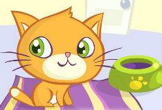 Игра Поиграй с котенком