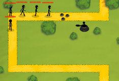 Игра Стикмены: защитные башни