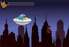 Игра Скуби Ду и космический корабль