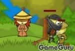 Игра Ниндзя и слепая девочка