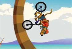 Игра Велосипед для Скуби-ду