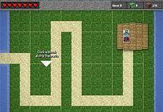 Игра Майнкрафт: защитные башни