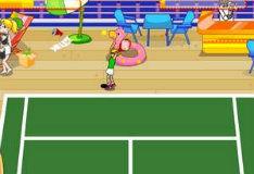 Игра На двоих теннис