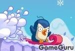 Игра Лавина: приключения пингвина