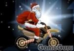 Игра Санта мотоциклист 2
