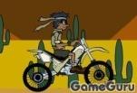 Игра Пустынный мотоцикл 2