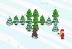 Игра Санта защитник