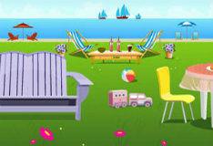 Игра Побег и домика на берегу моря