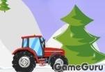Игра Рождественский трактор