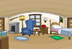 Игра Побег из просторной комнаты