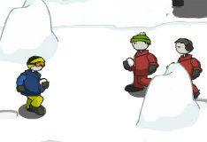 Игра Снежки