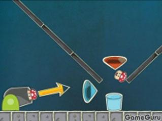 Игра Грибная пушка
