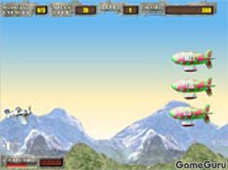 Игра Истребитель в воздухе