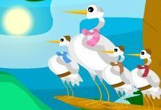 Игра Украшенные птицы
