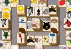Игра Маджонг с животными