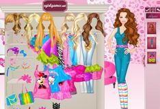 Игра Одевание Барби