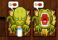 Игра Малыши динозавра