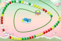 Дельфин и шарики Зума