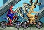 Игра Песчаный человек против Человека паука