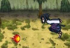 Игра Naruto огня