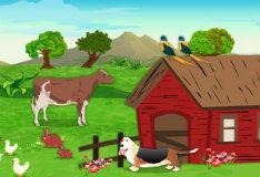 Игра Двор фермы - найди отличия