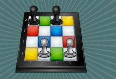 Игра Разноцветные шахматы