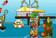 Игра Рыбачить с помощью динамита
