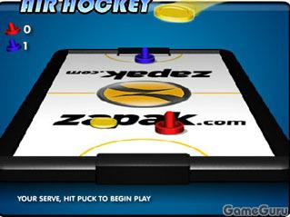 Воздушный хоккей   Запака