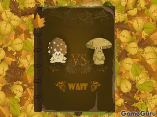 Игра Откровенный обмен мнениями между грибами