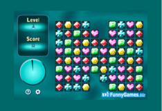 Игра Игра Убрать драгоценные камни