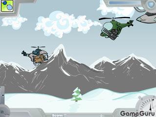Игра Мощный геликоптер