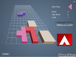 Игра Тетрис 3Д