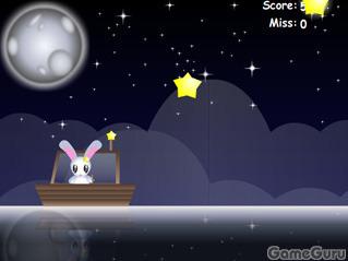 Игра Поймать падающие звезды