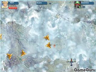 Игра Огонь в облаках