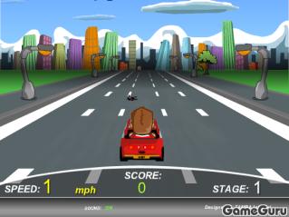 Игра Городской гонщик 1