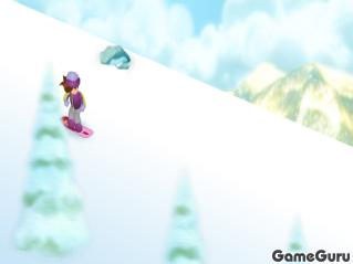 Игра Сноубордистка Бетти