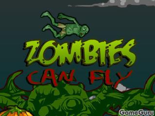 Игра Зомби могут летать