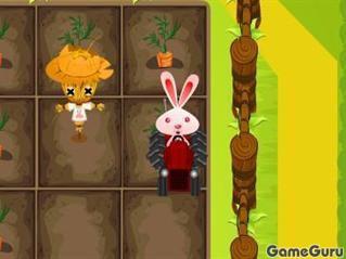 Игра Грядка кролика