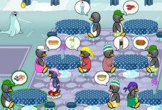 Игра Для девочек: кафе пингвинов