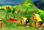 Игра Dinosaurs Invade